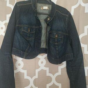 Paris Blues - +Size 2 - Cropped Jean Jacket